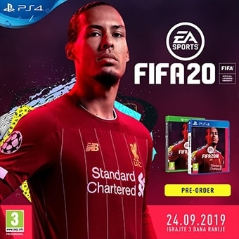 FIFA 20 cena prodaja