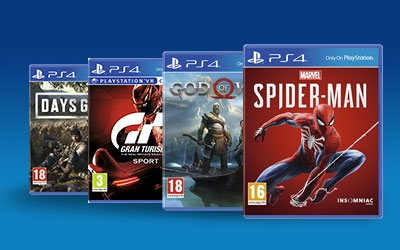 Igrice za PS4 prodaja