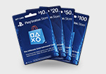 PS4 PSN Card