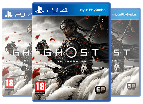 PS4 Ghost of Tsushima Standard Edition