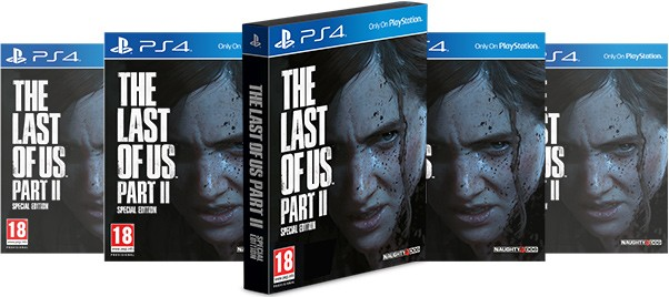 PS4 The Last of Us 2 Special Edition